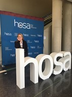 Kaylie Cofield at HOSA Leadership Conference