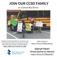 CCSD job ad bus driver 3 1 21