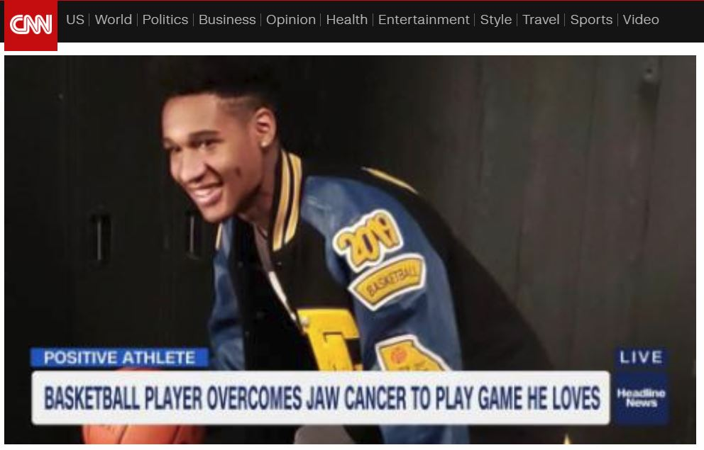 CNN Positive Athlete video image Matthew Lane 3 11 19