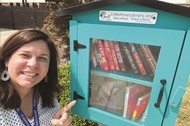 ET Booth MS Little Free Library 9 3 2020