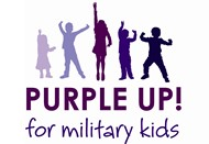 purple up day logo