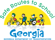 safe routes to school ga logo