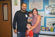 Nick and Lauren Garcia Surprised as Teachers of the Year