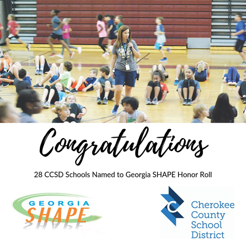 2019 ccsd shape honor roll 9 13 19