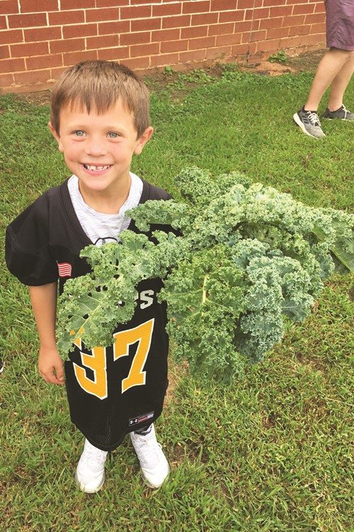 Jaxsen Waldrop and Kale