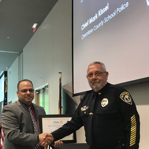 CCSD Police Chief Award 1 5 14 19