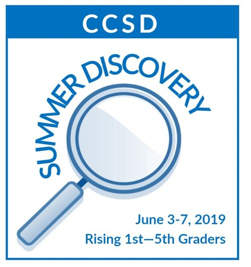 CCSD SUMMER DISCOVERY LOGO w dates