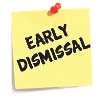 Early-Dismissal-Clipart