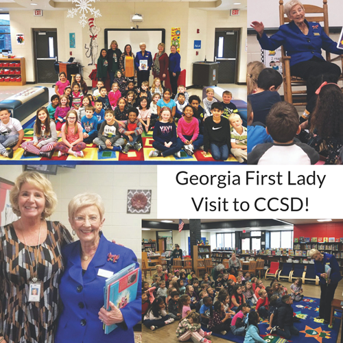 Georgia First Lady Visit to CCSD 11 28 18