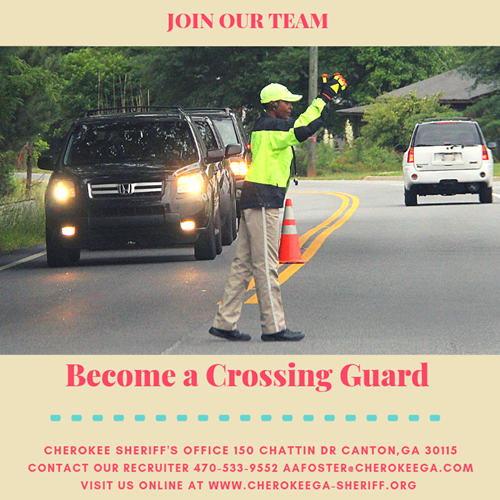 Sheriff Office Crossing Guard Ad 10 11 18