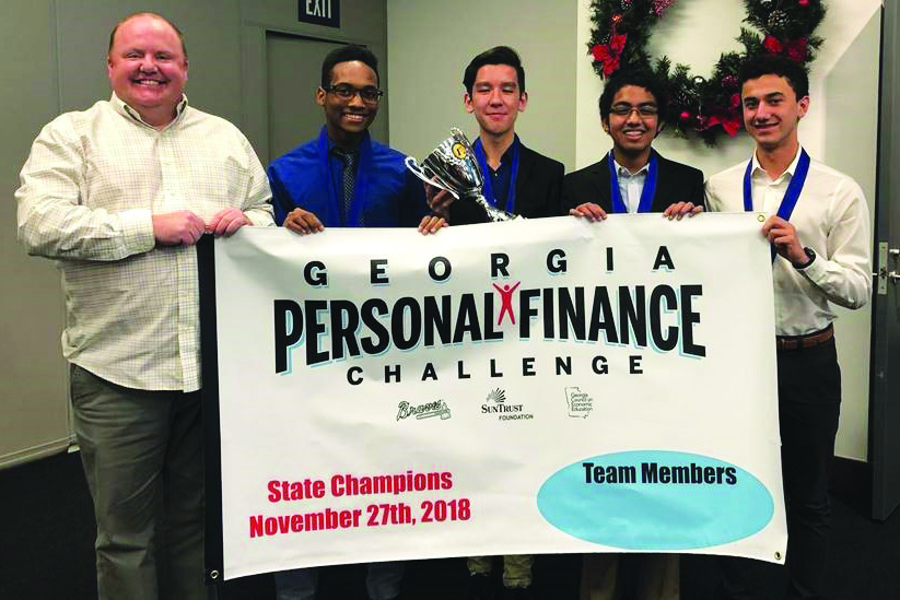 Woodstock HS Financial Champions 11 29 18