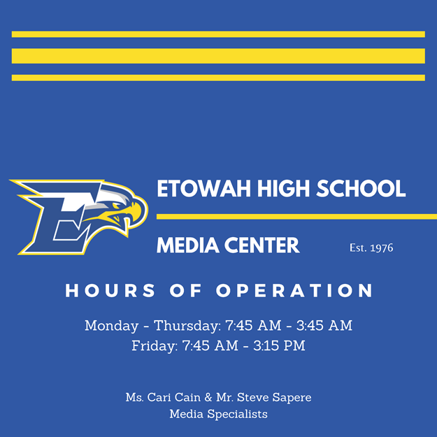 EHS Media Center Main Page