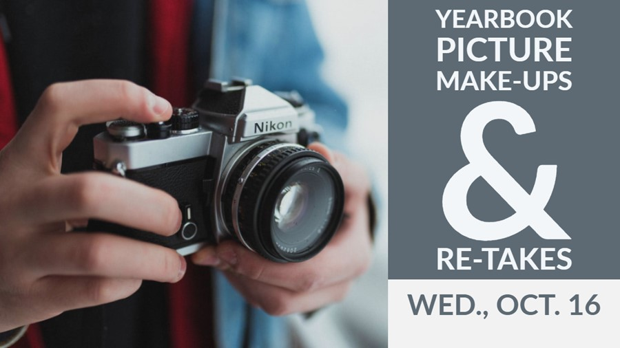 Nikon camera with yearbook picture announcement