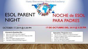 ESOL Parent Night
