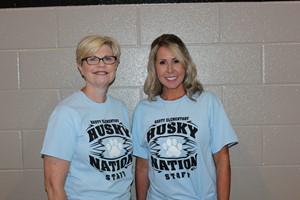 Mrs. Thacker and Mrs. Casey
