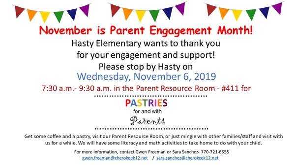 parent engagement month