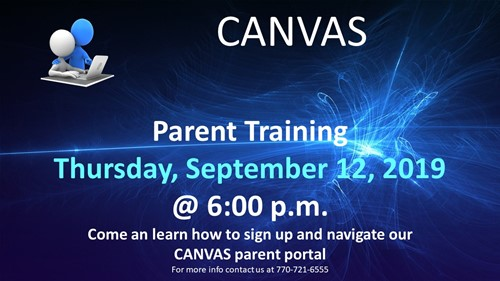 Parent Canvas Training