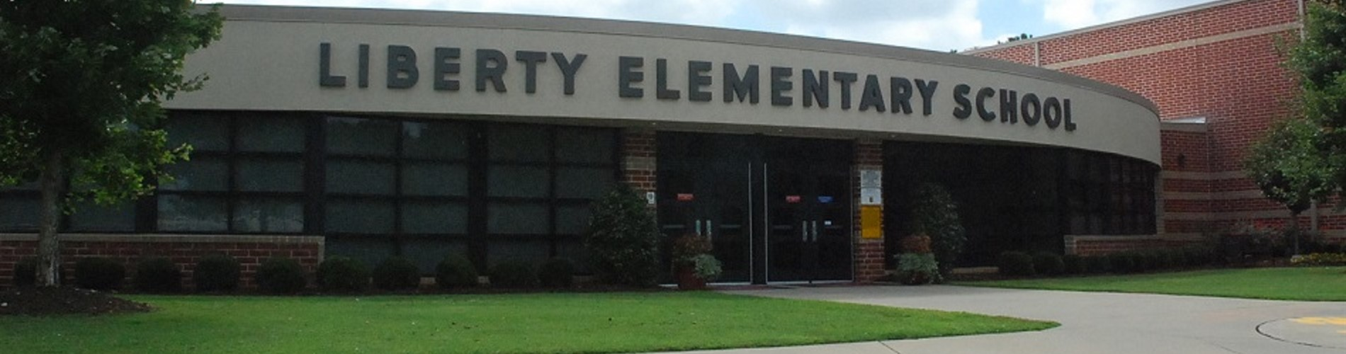 Front Entrance of Liberty Elementary