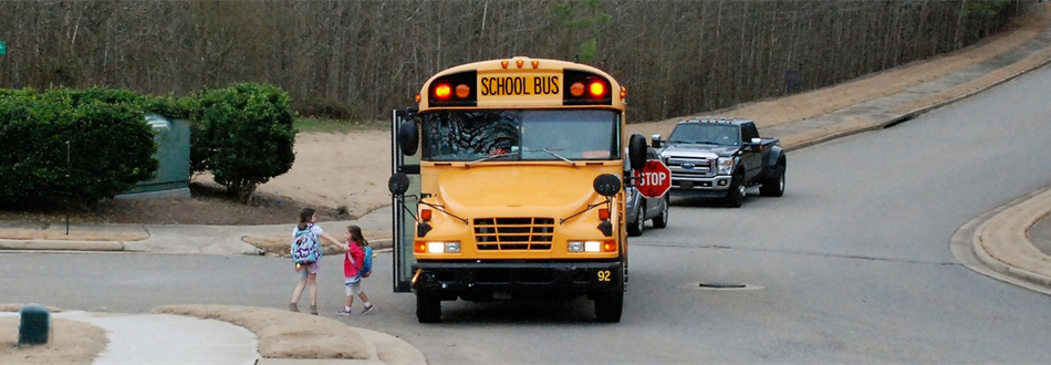 School Bus. First Day of School
