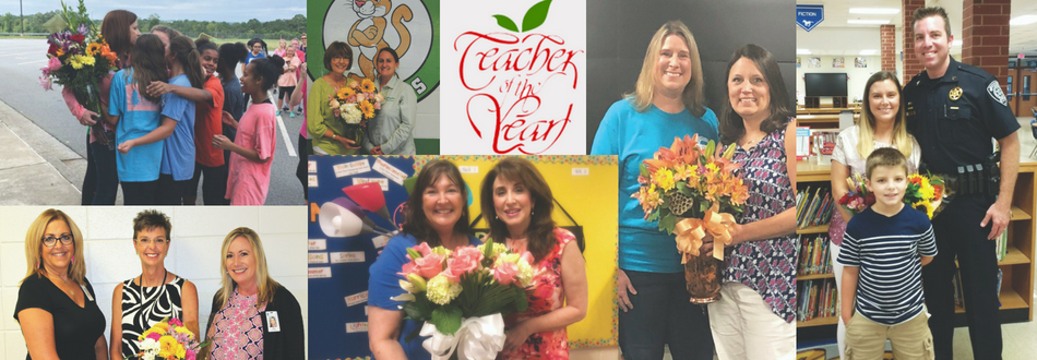collage of teacher of the year photos
