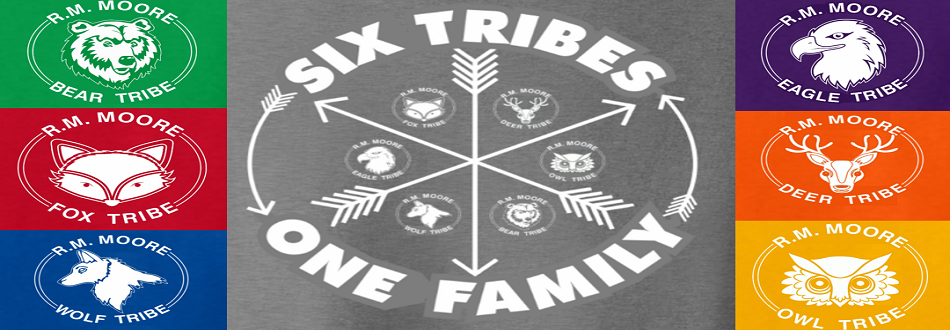 tribe logos, six tribes, one family