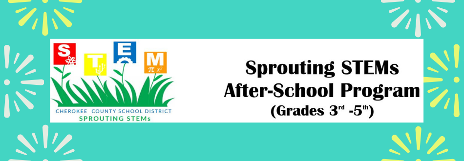 Sprouting STEMs reminder banner