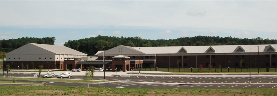 Front of Teasley Middle School