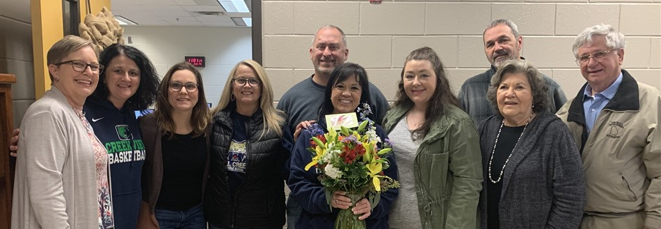 Lori Karnes recognized as Staff Member of the Year!