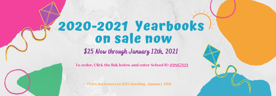Yearbook Sale 2020