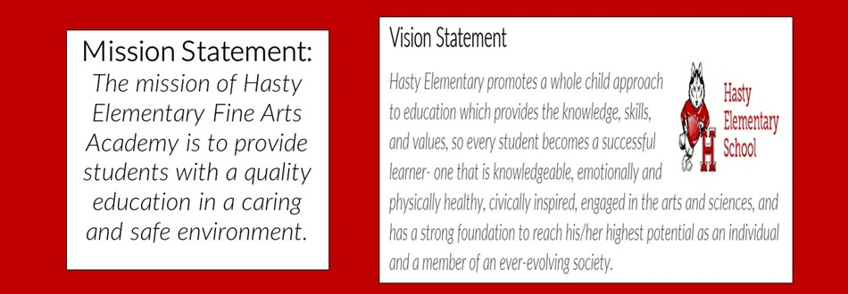 Hasty Mission and Vision Statement