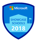 Microsoft Showcase School logo