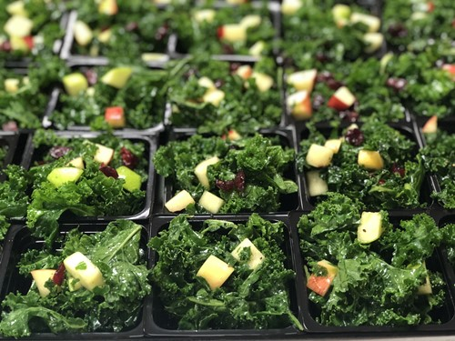 Kickin' It With Kale salad
