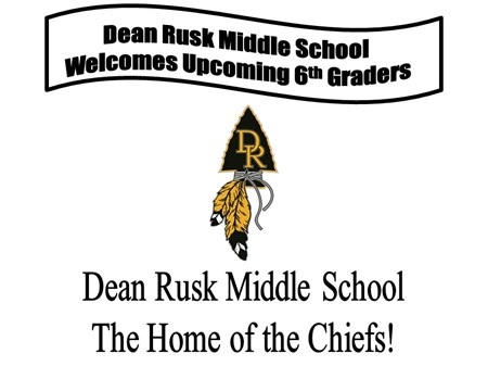 Welcome 6th Graders